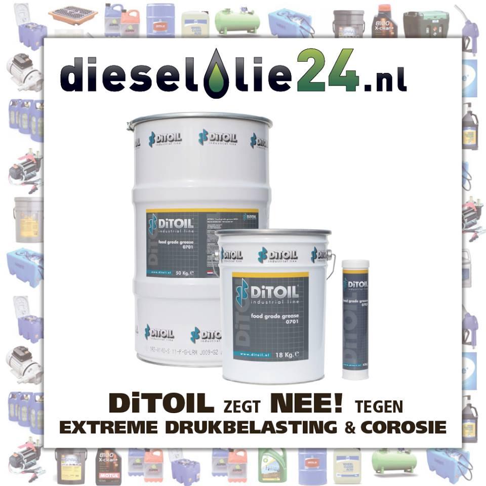 """Van de makers van """"Hèt Blauwe Vet"""": DiTOIL Food grade 0701"""