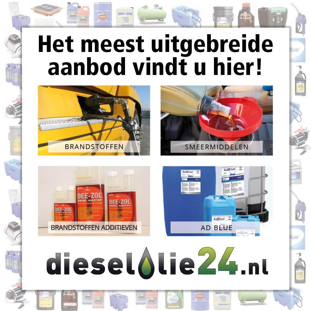 Uitgebreid aanbod op Dieselolie24.nl!