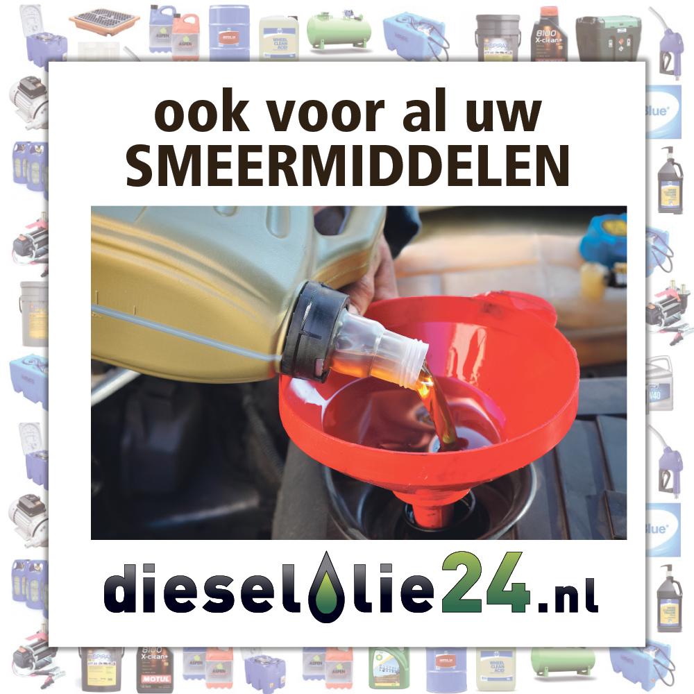 Ook voor al uw smeermiddelen kunt u terecht bij Dieselolie24.nl.